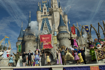 Ginnifer Goodwin Ginnifer Goodwin And Jordin Sparks Help Open New Fantasyland At Walt Disney World