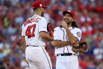 Gio Gonzalez Divisional Round - Chicago Cubs v Washington Nationals - Game Two