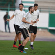 Giorgio Chiellini Juventus Training Session - Italian Supercup Previews
