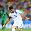 Giorgos Karagounis Greece v Cote D'Ivoire: Group C