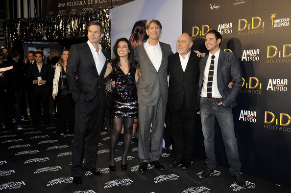 'Didi Hollywood' Premiere In Madrid [event,premiere,carpet,flooring,suit,white-collar worker,paul sculfor,peter coyote,bigas luna,giovanna zacarias,luis hacha,didi hollywood,l-r,madrid,premiere,premiere]