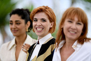 """(L-R) Actress Golshifteh Farahani, director Eva Husson and actress Emmanuelle Bercot attend the photocall for """"Girls Of The Sun (Les Filles Du Soleil)"""" during the 71st annual Cannes Film Festival at Palais des Festivals on May 13, 2018 in Cannes, France."""