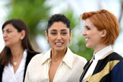 """(L-R) Producer Didar Domehri, actress Golshifteh Farahani and director Eva Husson attend the photocall for """"Girls Of The Sun (Les Filles Du Soleil)"""" during the 71st annual Cannes Film Festival at Palais des Festivals on May 13, 2018 in Cannes, France."""