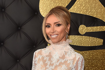 Giuliana Rancic The 59th GRAMMY Awards -  Red Carpet