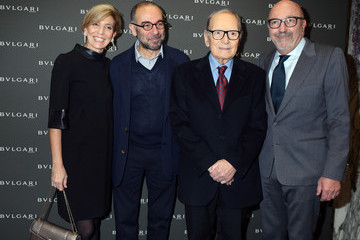 Giuseppe Tornatore Golden Globes Ceremony Honoring Ennio Morricone Hosted by BVLGARI