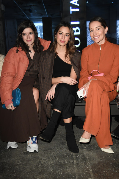 Nobi Talai - Arrivals - Berlin Fashion Week Autumn/Winter 2020 [fashion,event,fun,fashion design,nobi talai - arrivals,nobi talai,anna sharypova,gizem emre,marie nasemann,l-r,berlin,kraftwerk mitte,berlin fashion week,show,marie nasemann,gizem emre,nobi talai,berlin fashion week,fashion,fashion week,fashion show,photography,photograph,stylenite]