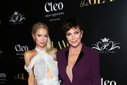 Paris Hilton and Kris Jenner attend The Glam App Celebration Event at Cleo on June 19, 2019 in Hollywood, California.