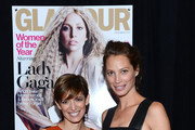Cynthia Leive and Christy Turlington Burns attend Glamour's 23rd annual Women of the Year awards on November 11, 2013 in New York City.
