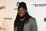 Football player Chris Ivory attends Glazer Palooza and Suits and Sneakers on February 3, 2016 in San Francisco, California.