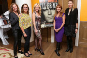 "Abigail Disney, Susan Disney Lord, Kim Campbell, Jane Seymour, and Ashley Campbell attend the ""Glen Campbell...I'll Be Me"" New York Premiere at Crosby Street Hotel on October 22, 2014 in New York City."