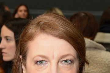 Glenda Bailey Vera Wang Collection - Front Row - Mercedes-Benz Fashion Week Fall 2014