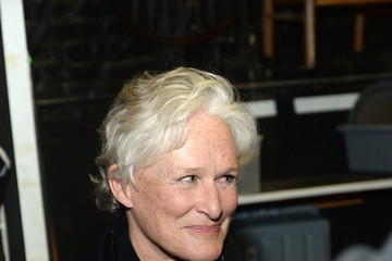 Glenn Close Celebrities Attend Broadway's 'Hamilton'