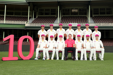 Glenn McGrath Australia Test Team Photo Session