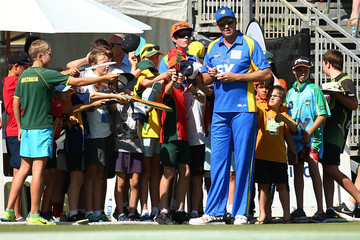 Glenn McGrath WA Festival of Cricket Legends Match