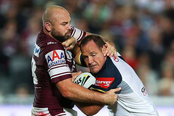 Glenn Stewart Sea Eagles v Cowboys