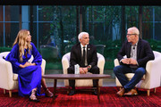 (L-R) Petra Nemcova, Frank Giustra, and Howard Sherman speak onstage during Global Citizen - Movement Makers at The Times Center on September 25, 2018 in New York City.