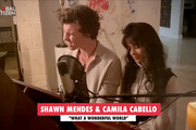 """In this screengrab, Shawn Mendes and Camilla Cabello perform during """"One World: Together At Home"""" presented by Global Citizen on April, 18, 2020. The global broadcast and digital special was held to support frontline healthcare workers and the COVID-19 Solidarity Response Fund for the World Health Organization, powered by the UN Foundation."""
