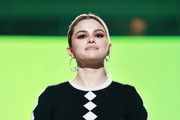 INGLEWOOD, CALIFORNIA: In this image released on May 2, Selena Gomez speaks onstage during Global Citizen VAX LIVE: The Concert To Reunite The World at SoFi Stadium in Inglewood, California. Global Citizen VAX LIVE: The Concert To Reunite The World will be broadcast on May 8, 2021.