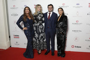 Maria Bravo, Melanie Griffiths, a guest and Eva Longoria Baston attend the annual Global Gift Gala London at Kimpton Fitzroy Hotel on October 17, 2019 in London, England.