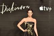 """Ella Hunt attends Apple's Global Premiere for """"Dickinson"""" on October 17, 2019 in Brooklyn, New York. """"Dickinson"""" debuts on Apple TV+, the first all-original video subscription service, on November 1."""