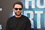 "Actor Charlie Day attends the premiere of Global Road Entertainment's ""Hotel Artemis"" at Regency Village Theatre on May 19, 2018 in Westwood, California."