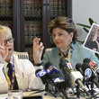Gloria Allred Press Conference With Female Pilot Alleging Sex Discrimination And Jeffrey Epstein