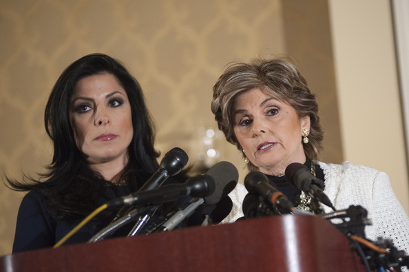 Gloria Allred News Conference With Natalie Khawam ...