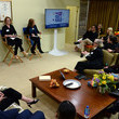 Gloria Steinem Turn Up: Fight Hunger Event With Discovery, Inc.