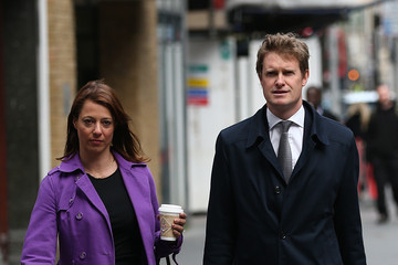 Gloria de Piero Labour MP Tristram Hunt Gives Speech To Announce He Will Not Run For Party Leadership