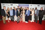 """The cast and crew of """"God Bless The Broken Road"""" attend the """"God Bless The Broken Road"""" Premiere at Silver Screen Theater at the Pacific Design Center on September 5, 2018 in West Hollywood, California."""