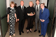 (L-R) Anna Wintour, Michael Kors, Deborra-lee Furness, Hugh Jackman and Nathan Lane attend God's Love We Deliver, Golden Heart Awards at Spring Studios on October 16, 2018 in New York City.