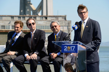 Edwin M. Lee Golden State Warriors Announce Plan To Move To San Francisco