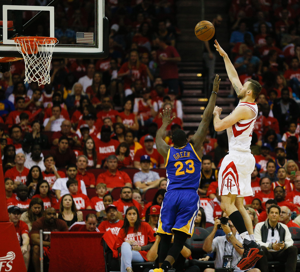 Rockets And The Warriors Game: Draymond Green Photos Photos