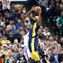 Trevor Booker Photos - Trevor Booker #20 of the Indiana Pacers shoots the ball against the Golden State Warrriors during the game at Bankers Life Fieldhouse on April 5, 2018 in Indianapolis, Indiana.  NOTE TO USER: User expressly acknowledges and agrees that, by downloading and or using this photograph, User is consenting to the terms and conditions of the Getty Images License Agreement. - Golden State Warriors v Indiana Pacers