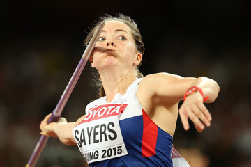 Goldie Sayers 15th IAAF World Athletics Championships Beijing 2015 - Day Seven
