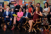 George Stephanopoulos and Ginger Zee Photos Photo