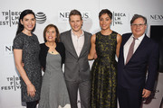 """(L-R) Julianna Margulies, Michelle King, Matt Czuchry, Cush Jumbo, and Robert King attend """"The Good Wife"""" Screening during the 2016 Tribeca Film Festival at John Zuccotti Theater at BMCC Tribeca Performing Arts Center on April 17, 2016 in New York City."""