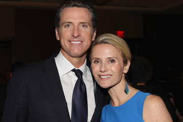Gavin Newsom Jennifer Siebel Newsom Google & Hollywood Reporter Host An Evening Celebrating The White House Correspondents' Weekend - Inside