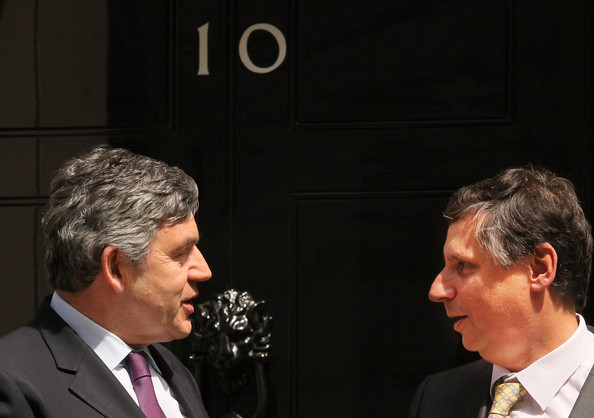 Gordon Brown Meets With Czech Prime Minister Jan Fischer []