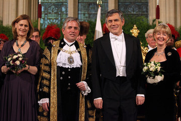 Claire Anstee Gordon Brown Speaks At The Lord Mayor's Banquet