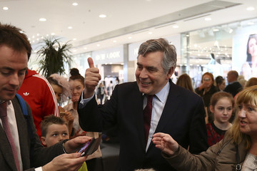 Gordon Brown Jim Murphy and Gordon Brown Campaign Together