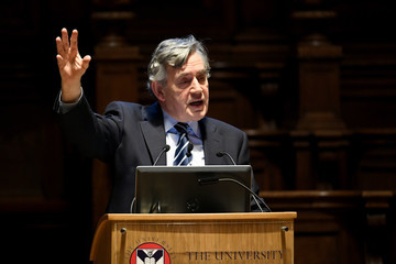 Gordon Brown Gordon Brown Addresses Conference on How China's Economic Growth Could Impact UK