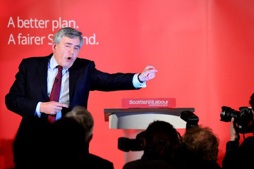 Gordon Brown Jim Murphy Ask Voters To Choose Between a Fair Economy Or Second Referendum