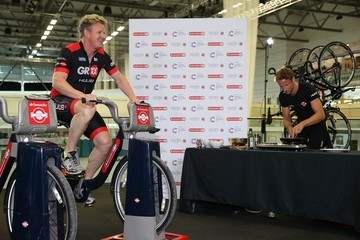 Gordon Ramsay The Launch of Jenson Button Trust Triathlon
