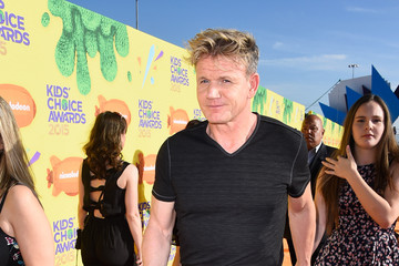 Gordon Ramsay Nickelodeon's 28th Annual Kids' Choice Awards - Red Carpet