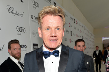 Gordon Ramsay Inside the Elton John AIDS Foundation Oscars Viewing Party