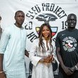 Gorgui Dieng Naomi Campbell Supports Girl's Empowerment Through Sport In Senegal
