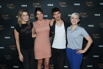 Grace Helbig Joey Graceffa's YouTube Original Series 'Escape The Night' VIP Escape Room Experience