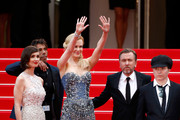 """Actresses Paz Vega, Nicole Kidman, actor Tim Roth and director Olivier Dahan attend the Opening ceremony and the """"Grace of Monaco"""" Premiere during the 67th Annual Cannes Film Festival on May 14, 2014 in Cannes, France."""