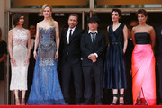 """(L-R) Actresses Paz Vega, Nicole Kidman, actor Tim Roth, director Olivier Dahan and guests attend the Opening ceremony and the """"Grace of Monaco"""" Premiere during the 67th Annual Cannes Film Festival on May 14, 2014 in Cannes, France."""